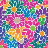 Άνευ ραφής floral σχέδιο ελεύθερη απεικόνιση δικαιώματος