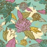 Άνευ ραφής floral σύσταση ελεύθερη απεικόνιση δικαιώματος