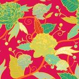Άνευ ραφής floral σύσταση απεικόνιση αποθεμάτων