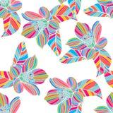 Άνευ ραφής floral σύσταση διανυσματική απεικόνιση