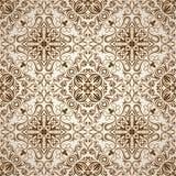 Άνευ ραφής Floral ταπετσαρία σχεδίων Στοκ εικόνα με δικαίωμα ελεύθερης χρήσης