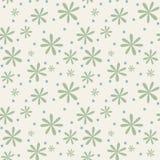 Άνευ ραφής floral υπόβαθρο με τα camomiles Στοκ εικόνες με δικαίωμα ελεύθερης χρήσης