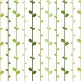 Άνευ ραφής floral υπόβαθρο με τις πράσινες σειρές χορταριών Στοκ εικόνες με δικαίωμα ελεύθερης χρήσης