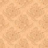 Άνευ ραφής floral υπόβαθρο Στοκ εικόνα με δικαίωμα ελεύθερης χρήσης