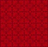 Άνευ ραφής floral damask πρότυπο Στοκ Εικόνες