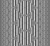 Άνευ ραφής fractal πρότυπο Στοκ Φωτογραφία