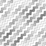 Άνευ ραφής Greyscale σύσταση ράστερ Κυματιστό σχέδιο γραμμών κλίσης αφηρημένο λεπτό διάνυσμα απεικόνισης ανασκόπησης Στοκ Φωτογραφίες