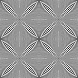 Άνευ ραφής op πρότυπο τέχνης σύσταση γραμμών διανυσματική απεικόνιση