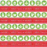 Άνευ ραφής patern Χριστουγέννων διανυσματική απεικόνιση