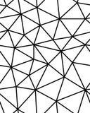 Άνευ ραφής polygonal σχέδιο Στοκ φωτογραφία με δικαίωμα ελεύθερης χρήσης