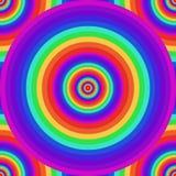 Άνευ ραφής psychedelic σύσταση ουράνιων τόξων απεικόνιση αποθεμάτων