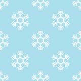 Άνευ ραφής snowflake διάνυσμα υποβάθρου Στοκ Φωτογραφίες