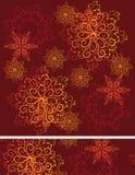 άνευ ραφής snowflakes ανασκόπησης Στοκ φωτογραφία με δικαίωμα ελεύθερης χρήσης