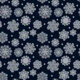 άνευ ραφής snowflakes προτύπων background colors holiday red yellow επίσης corel σύρετε το διάνυσμα απεικόνισης Στοκ Εικόνες