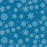 άνευ ραφής snowflakes προτύπων background colors holiday red yellow επίσης corel σύρετε το διάνυσμα απεικόνισης Στοκ εικόνες με δικαίωμα ελεύθερης χρήσης