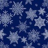 άνευ ραφής snowflakes προτύπων background colors holiday red yellow επίσης corel σύρετε το διάνυσμα απεικόνισης Στοκ εικόνα με δικαίωμα ελεύθερης χρήσης
