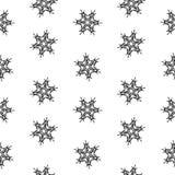 Άνευ ραφής snowflakes σχεδίων αφηρημένη απομόνωση, χειμερινό στοιχείο για το σχέδιο Στοκ φωτογραφίες με δικαίωμα ελεύθερης χρήσης
