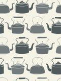άνευ ραφής teapot ανασκόπησης Στοκ φωτογραφία με δικαίωμα ελεύθερης χρήσης