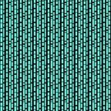 Άνευ ραφής/Tileable, κάθετες, διακλαδιμένος μαύρες γραμμές σε κυανό διανυσματική απεικόνιση