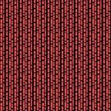 Άνευ ραφής/Tileable, κάθετες, διακλαδιμένος μαύρες γραμμές στο κόκκινο απεικόνιση αποθεμάτων