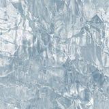Άνευ ραφής tileable σύσταση πάγου παγωμένο ύδωρ Στοκ Εικόνες