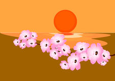 άνθισμα κερασιών Στοκ εικόνα με δικαίωμα ελεύθερης χρήσης