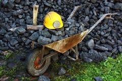 Άνθρακας μεταλλείας Στοκ φωτογραφίες με δικαίωμα ελεύθερης χρήσης