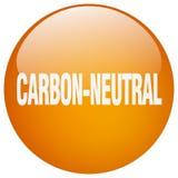 άνθρακας-ουδέτερο κουμπί απεικόνιση αποθεμάτων