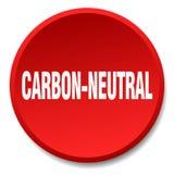άνθρακας-ουδέτερο κουμπί ελεύθερη απεικόνιση δικαιώματος