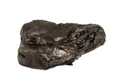 άνθρακας που απομονώνεται Στοκ Φωτογραφία