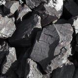 Άνθρακας στο ανθρακωρυχείο Στοκ φωτογραφίες με δικαίωμα ελεύθερης χρήσης