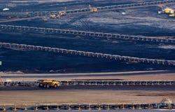 Άνθρακας open-pit στοκ φωτογραφίες με δικαίωμα ελεύθερης χρήσης