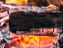 Άνθρακες ως υπόβαθρο Στοκ εικόνα με δικαίωμα ελεύθερης χρήσης