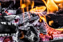Άνθρακες ως υπόβαθρο Στοκ φωτογραφίες με δικαίωμα ελεύθερης χρήσης