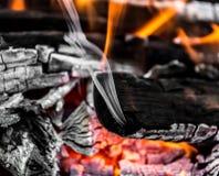 Άνθρακες ως υπόβαθρο Στοκ Φωτογραφία