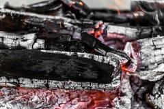 Άνθρακες ως υπόβαθρο Στοκ φωτογραφία με δικαίωμα ελεύθερης χρήσης