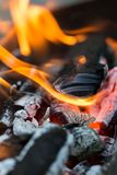 Άνθρακες ως υπόβαθρο Στοκ εικόνες με δικαίωμα ελεύθερης χρήσης