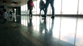 Άνθρωποι αερολιμένων επιβατών φιλμ μικρού μήκους