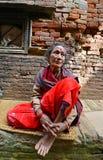 Άνθρωποι από τα προάστια Katmandu που ζουν στην ένδεια Στοκ εικόνα με δικαίωμα ελεύθερης χρήσης