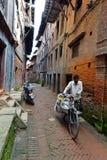 Άνθρωποι από τα προάστια Katmandu που ζουν στην ένδεια Στοκ φωτογραφία με δικαίωμα ελεύθερης χρήσης