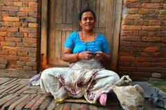 Άνθρωποι από τα προάστια Katmandu που ζουν στην ένδεια Στοκ εικόνες με δικαίωμα ελεύθερης χρήσης