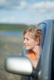 άνθρωποι αυτοκινήτων Στοκ Εικόνες