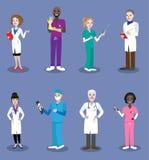 Άνθρωποι γιατρών Απεικόνιση αποθεμάτων