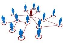άνθρωποι δικτύων ελεύθερη απεικόνιση δικαιώματος