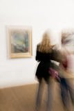 άνθρωποι δύο έκθεσης τεχν Στοκ Φωτογραφίες