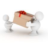 άνθρωποι δύο δώρων απεικόνιση αποθεμάτων
