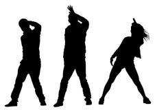 Άνθρωποι δύο χορευτών Στοκ εικόνα με δικαίωμα ελεύθερης χρήσης
