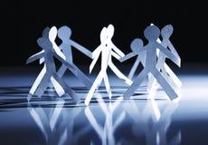 άνθρωποι εγγράφου ομάδα&sigm Στοκ εικόνα με δικαίωμα ελεύθερης χρήσης
