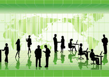 άνθρωποι επιχειρηματικών & Στοκ Εικόνα