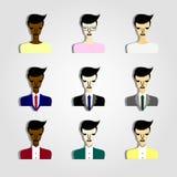 άνθρωποι επιχειρησιακών &eps απεικόνιση αποθεμάτων